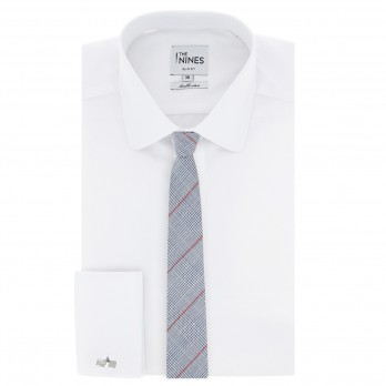 Red And Blue Prince of Wales tie The Nines