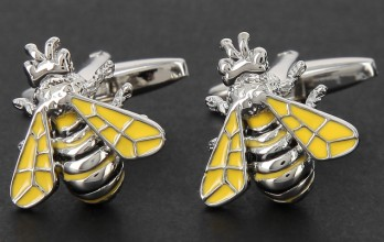 Bee cufflinks - Austerlitz