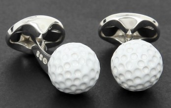 Deakin and Francis cufflinks - Golf Ball Pro