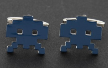 Invader cufflinks - Alien Invader