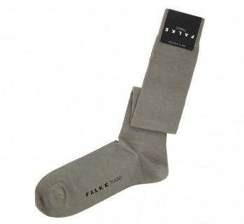 Chestnut Brown scottish lisle thread knee high socks by Falke