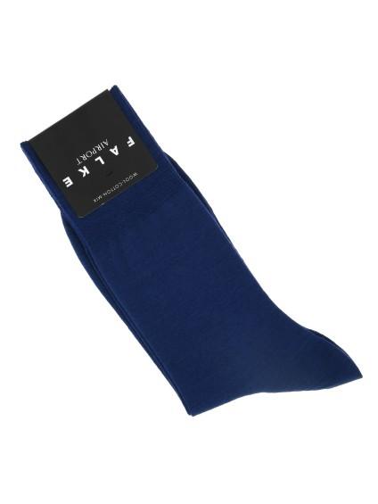 Dark blue wool socks by Falke