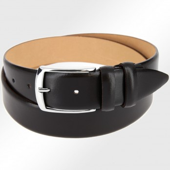 Leather belt in dark brown - The Nines