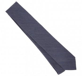 Grey Silk and Wool Basket Weave The Nines Tie - Baltimore