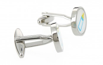 Baby bottle cufflinks - Good Night
