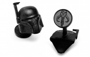 Star Wars cufflinks - Boba Fett