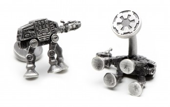 Star Wars cufflinks - AT-AT Walker Palladium