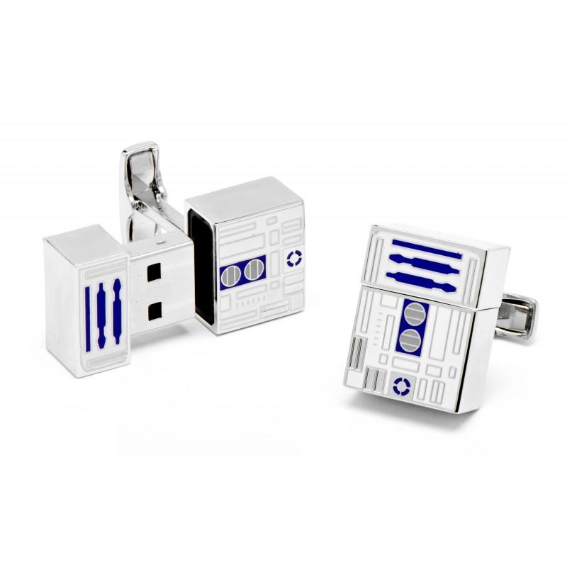 Star Wars cufflinks - R2D2 USB flash drive