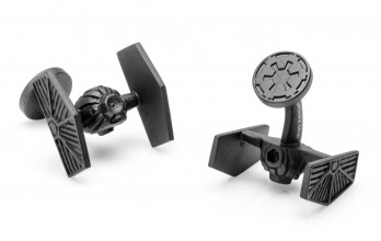 Star Wars cufflinks - Starfighter Black