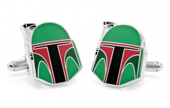 Star Wars cufflinks - Boba Fett Head