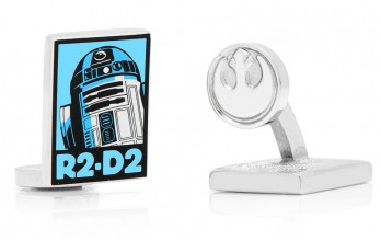 Star Wars cufflinks - R2D2 Pop Art Poster