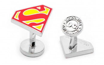 Superman cufflinks - Superman Shield