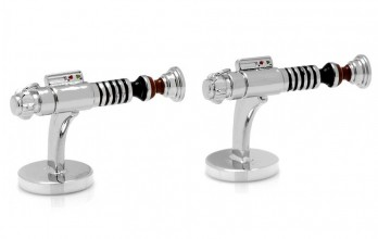 Star Wars cufflinks - Luke Skywalker Lightsaber