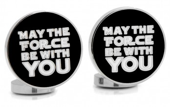 Star Wars cufflinks - May the Force Be With You