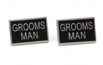 Wedding cufflinks - Groomsman