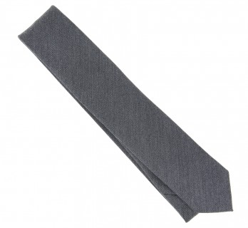 Grey Wool and Silk Tie - Brisbane II