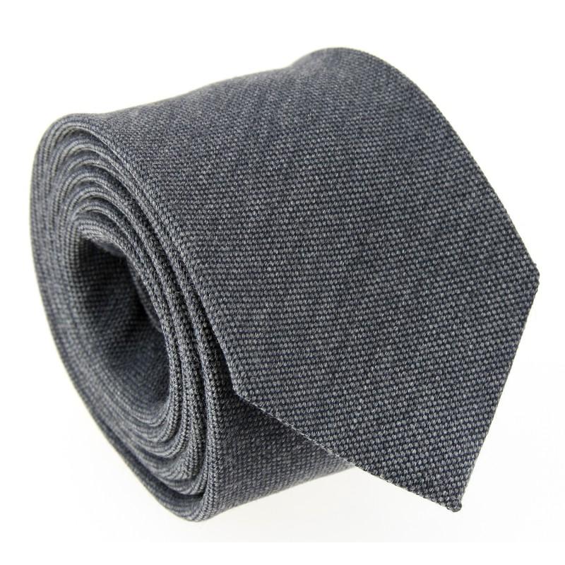 Grey Wool and Silk Tie - Brisbane II