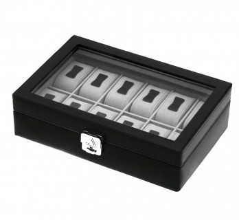 Coffret vitrine rangement 12 montres - BOD