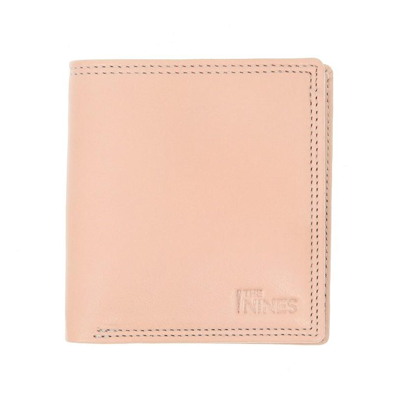 Portefeuille horizontal cuir naturel - ROM