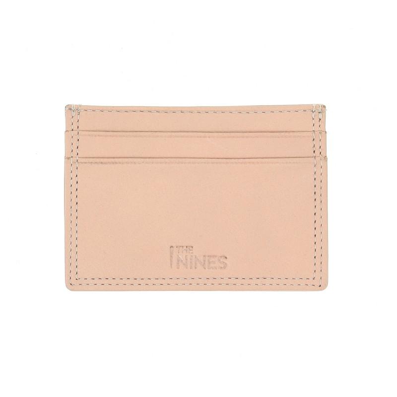Porte-cartes cuir naturel - LHR