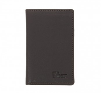 Brown leather wallet - ORY
