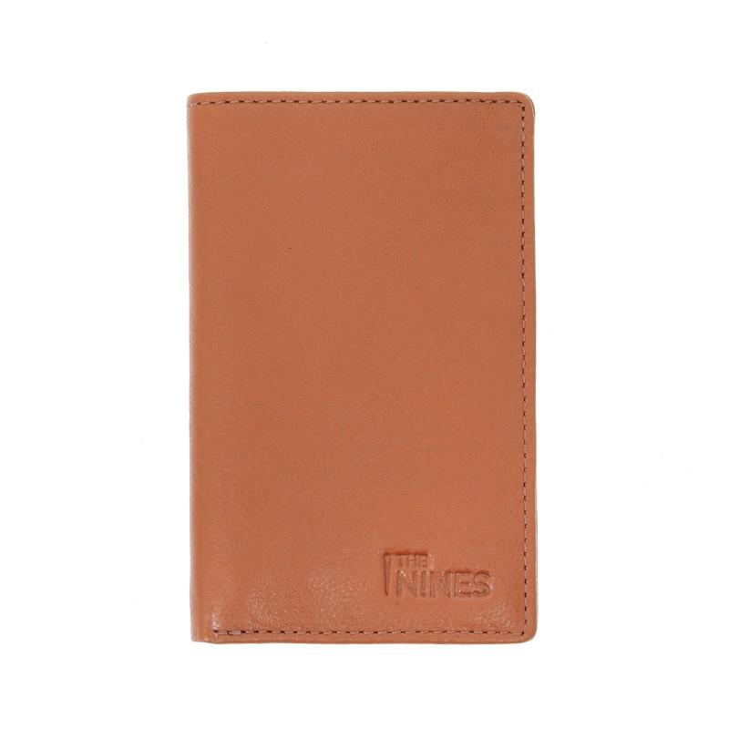Porte-cartes et porte-billets cuir cognac- ORY