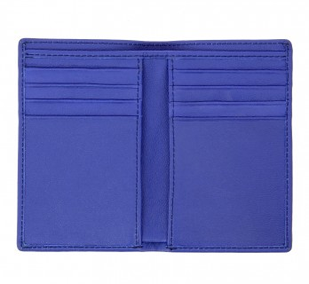 Blue leather wallet - ORY