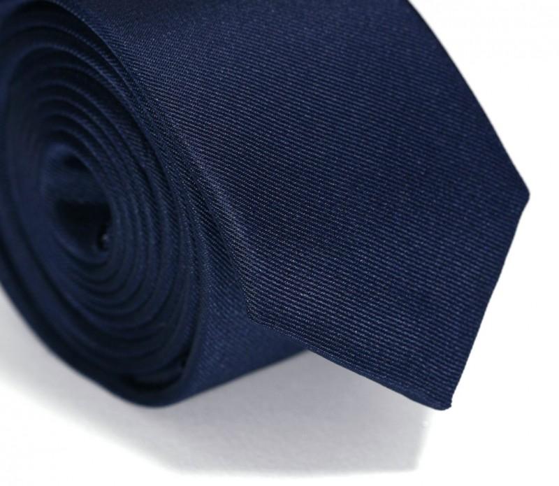 Navy Blue Slim Tie - Siena II