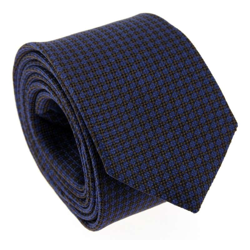 Brown The Nines Tie with Square Pattern - Savone II