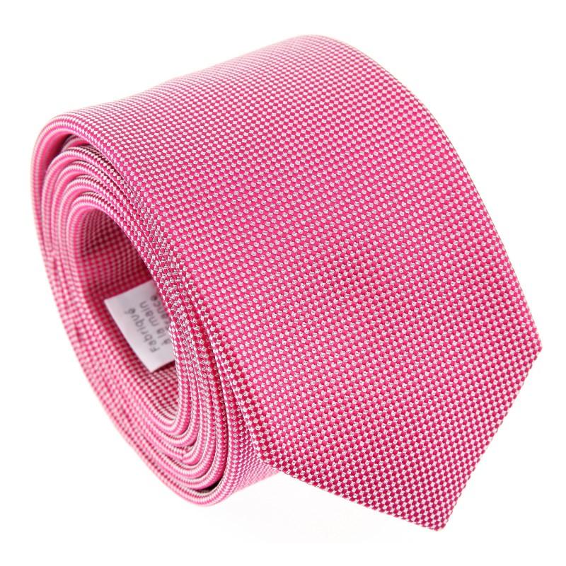 Pink Basket Weaves The Nines Tie - Perugia II