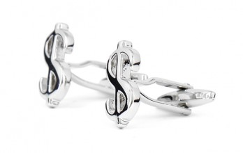 Dollar cufflinks - Bretton Woods