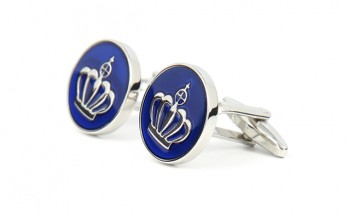 Crown cufflinks - Buckingham II