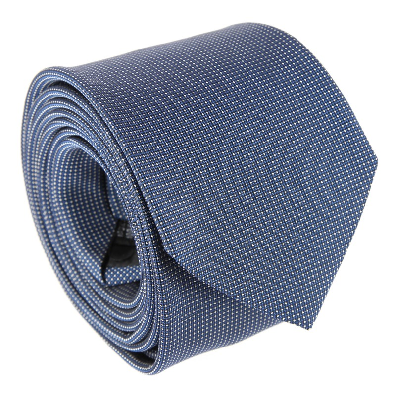Blue with Pinhead Pattern The Nines Tie - Breteuil