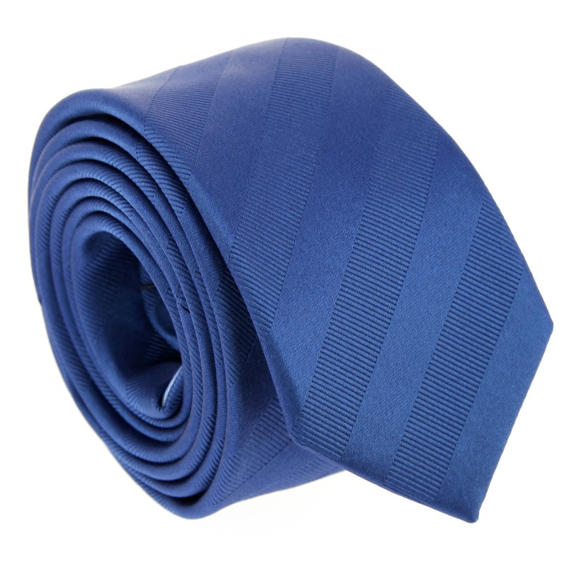 Semi Plain Blue The Nines Tie - Birmingham