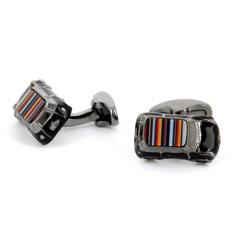 Paul Smith cufflinks - Mini Black