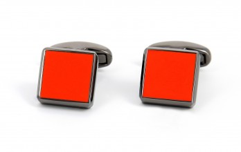 Paul Smith Cufflinks - Coral Square