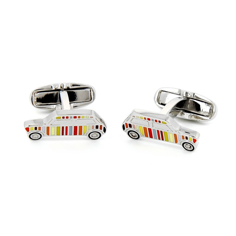 Paul Smith Stripe cufflinks