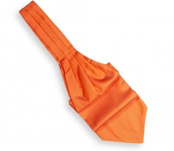 Orange Ascot Tie - Ascot II