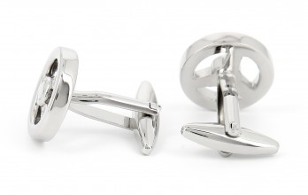 Steering wheel cufflinks - Sartre