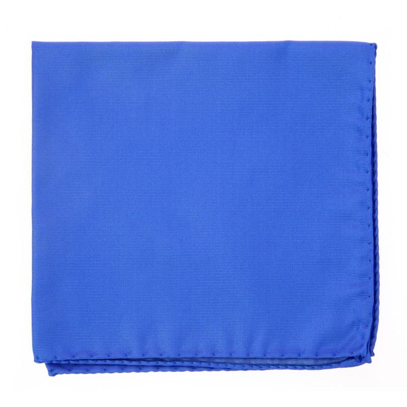 Majorelle Blue Pocket Square - Milan II