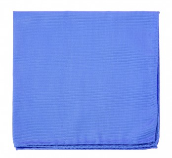 Cornflower Blue Pocket Square - Milan II