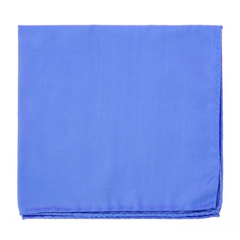 Cornflower Blue Pocket Square - Milan II