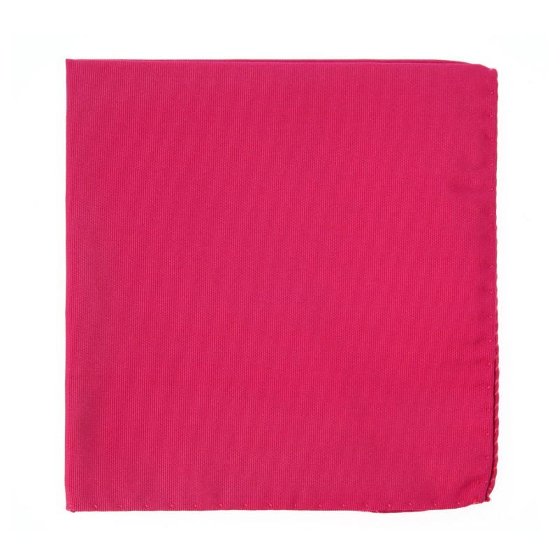 Fuchsia Pink Pocket Square - Milan II