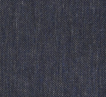 Charcoal-Gray Woolen and Silk Pocket Square With Herringbone Pattern - Trieste