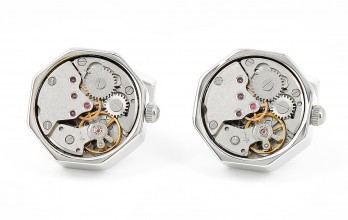 Schaffhausen octa - watch movement cufflinks