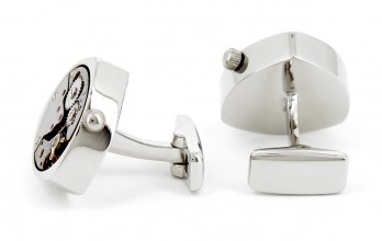 Schaffausen triangle - watch movement cufflinks