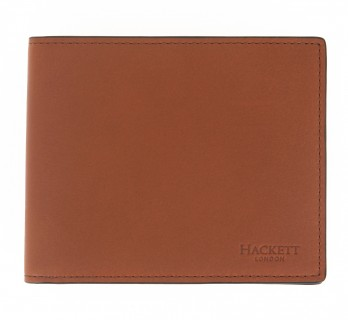 Brown wallet Hackett with money pocket - MIL