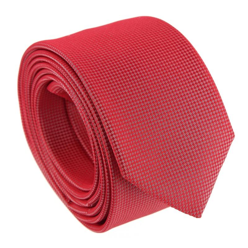 hugo boss red basket weave silk tie the house of ties. Black Bedroom Furniture Sets. Home Design Ideas