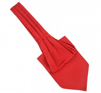 English Red Ascot Tie - Ascot II