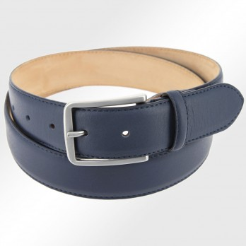 Men's belt in dark blue - Tom